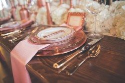 Blush Wedding Tablescape