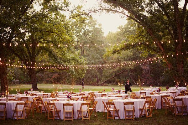 Merveilleux String Lights Will Help Create Separate Spaces, While Still Allowing Each  Area To Feel Connected And Allow Guests To Be Included In All Of The Wedded  Bliss, ...