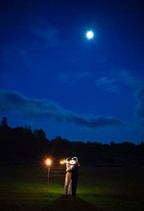 Bride-and-Groom-Under-the-Moonlight