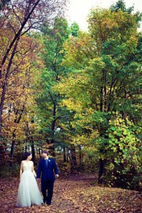 Bride-and-Groom-Walking-Hand-in-Hand