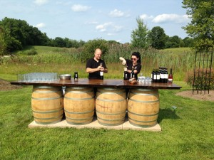 Wine Barrels Tabletop
